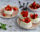 Mini PAVLOVA alle fragole preparate con soli 5 ingredienti