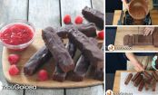 Finger Brownie o bastoncini di brownies al cioccolato