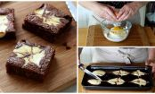 Brownie marmorizzato al cheesecake