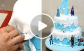 TORTA FROZEN: il VIDEO TUTORIAL per prepararla!