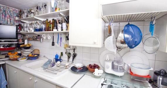 8 consigli per guadagnare spazio in cucina