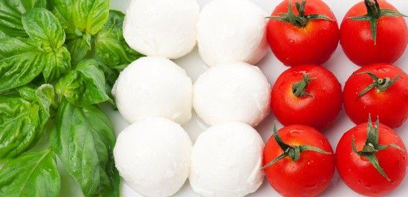 Znalezione obrazy dla zapytania bandiera italiana mozzarella