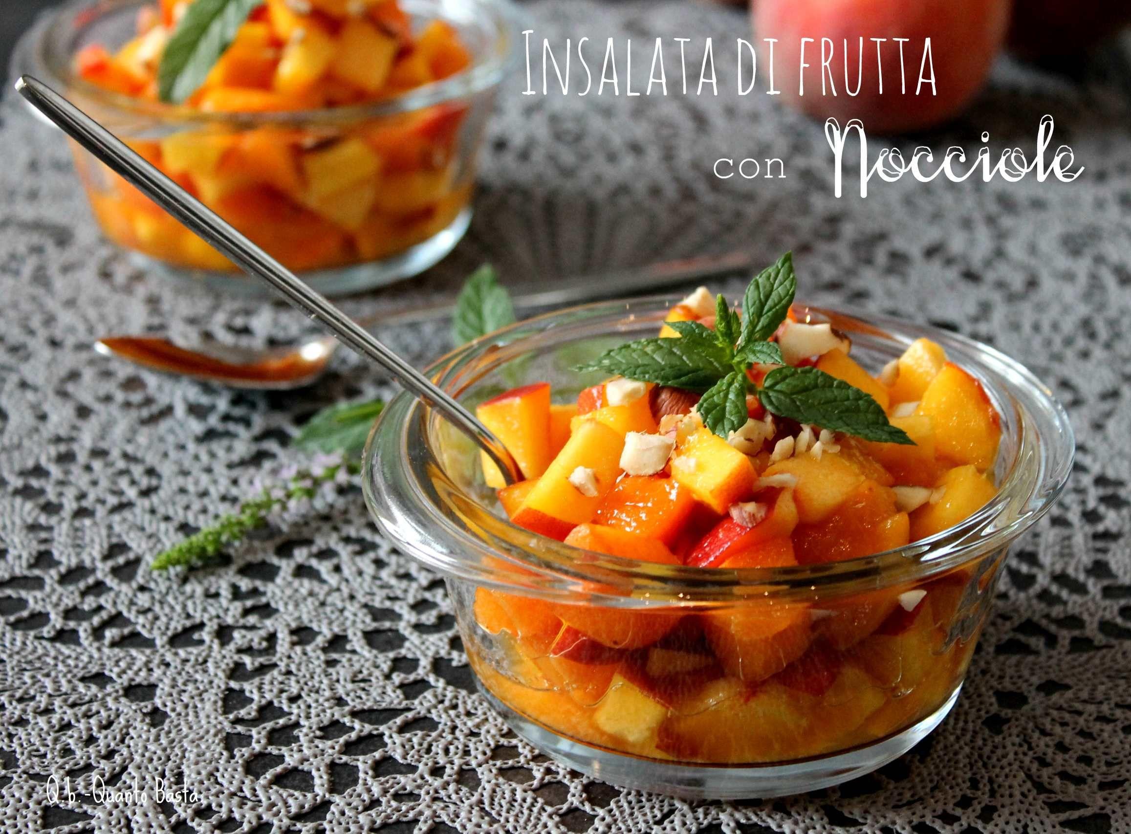 Préférence Ricette sfiziose della macedonia di frutta DN52