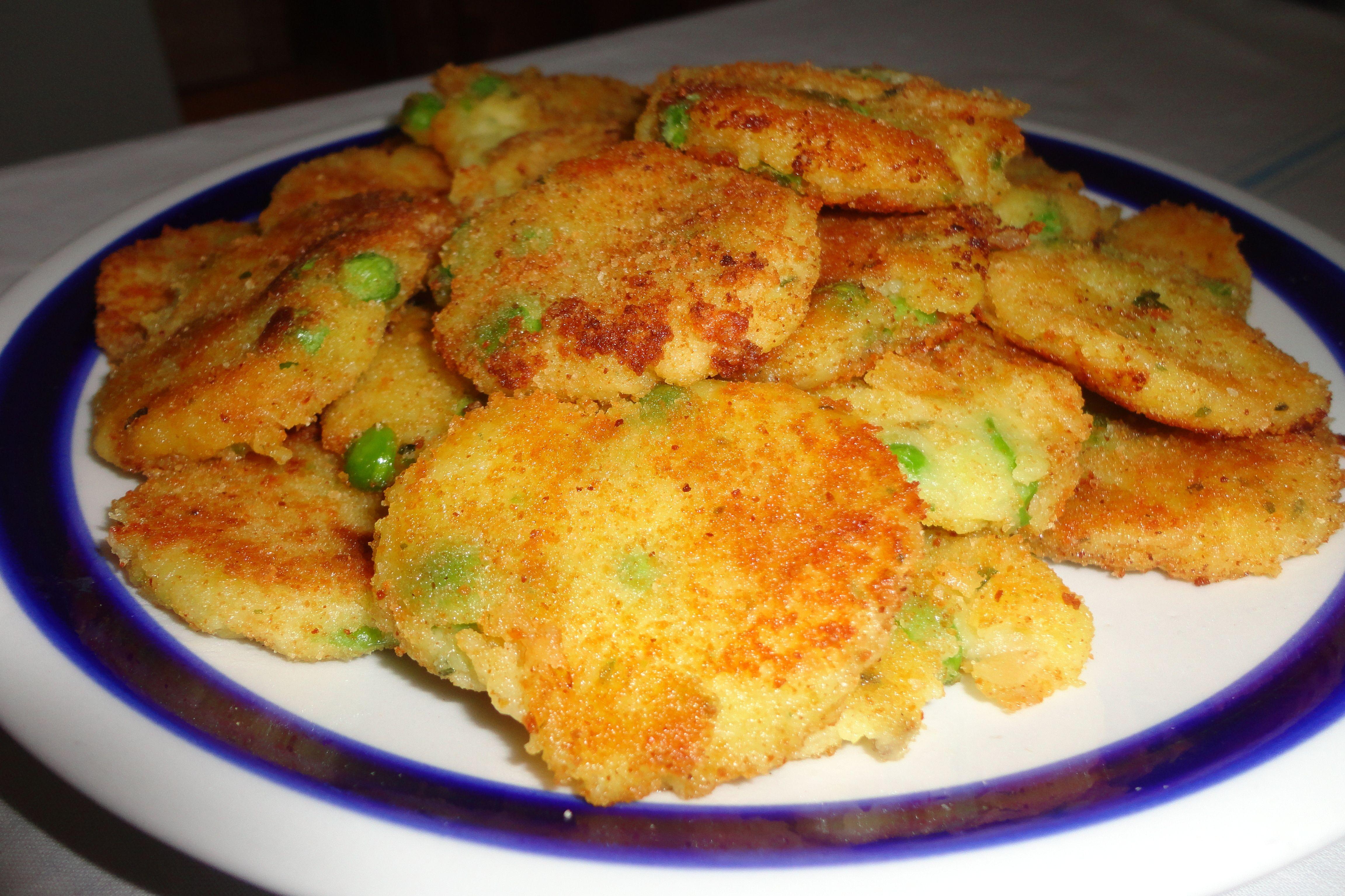 Polpette di patate e piselli 3 2 5 for Ricette con patate