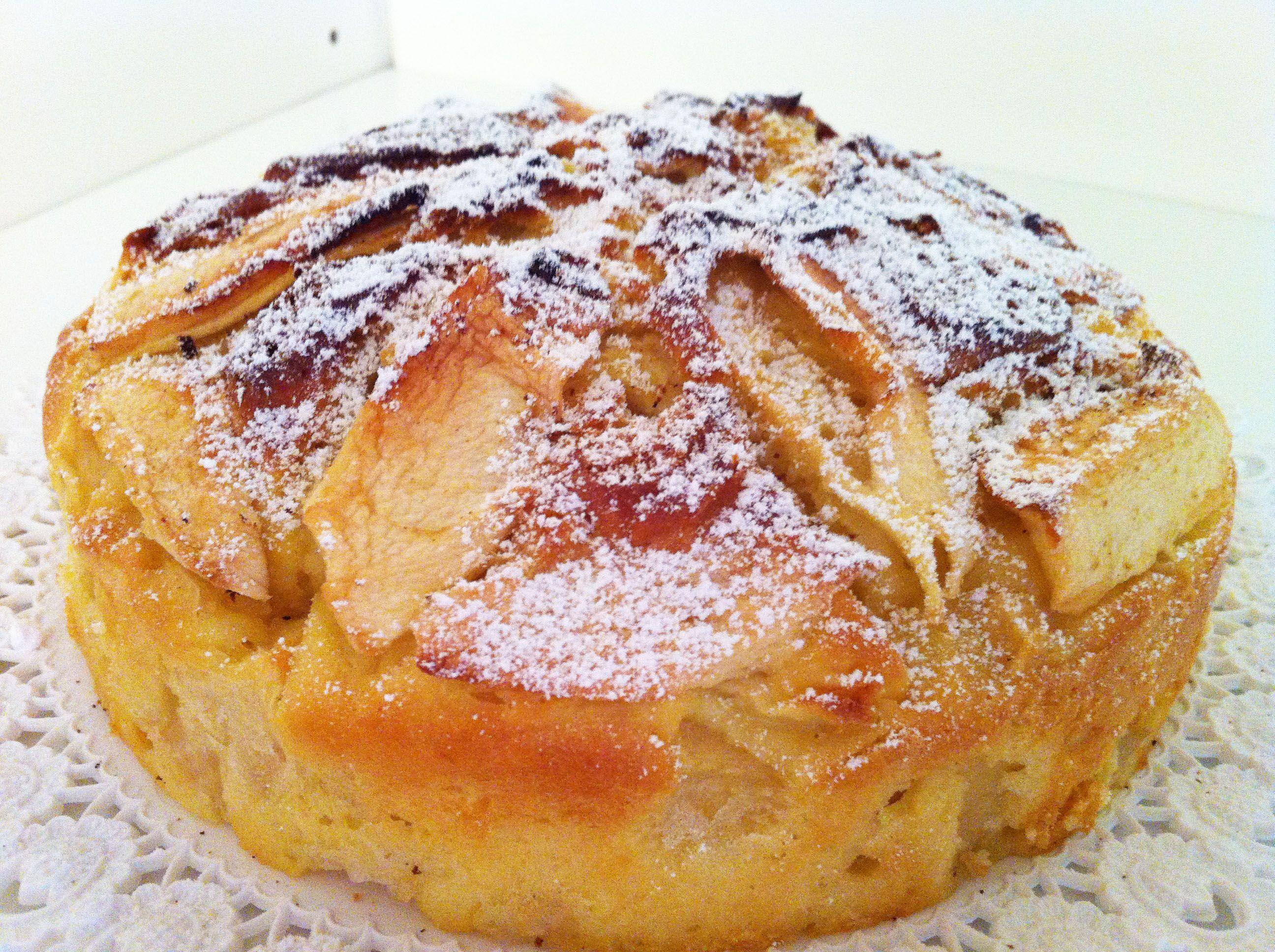Torta di mele della domenica 3 9 5 for Dolci dietetici