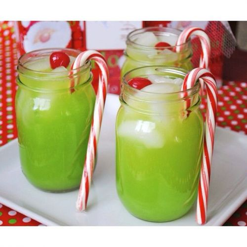 Grinch cocktail