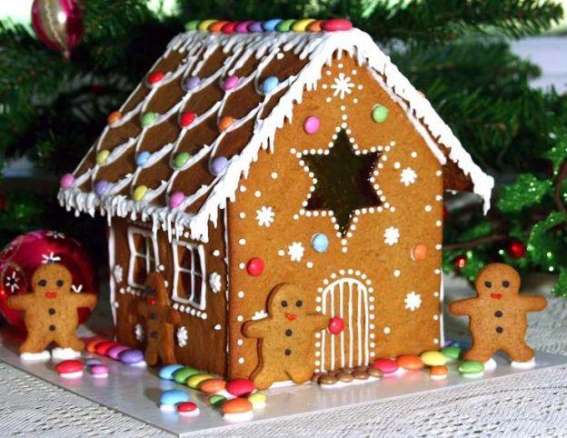 Casetta Di Natale Di Cioccolato : La classica casetta di pan di zenzero e originali varianti