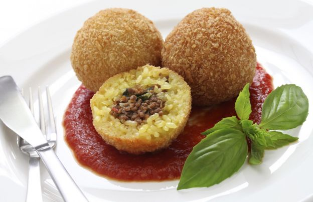 Crocchette, arancini et suppli