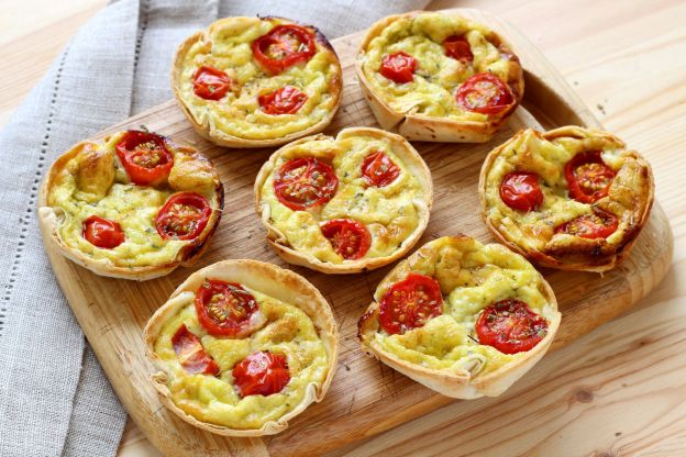 Mini quiches tortilla