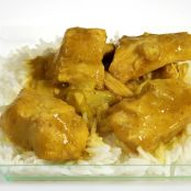 Pollo al curry facile