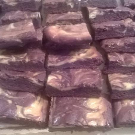 Brownies al cioccolato e Philadelphia