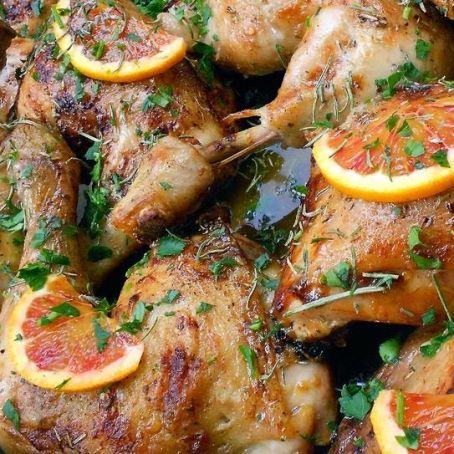 immagini cosce di pollo