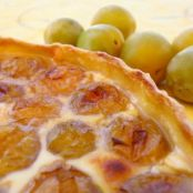 Clafoutis alle prugne gialle