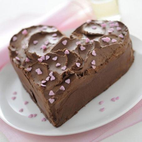 Ricetta Torta Al Cioccolato A Forma Di Cuore.Torta A Cuore Al Cioccolato 2 3 5