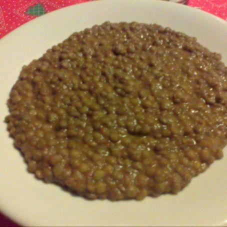 Ricetta Lenticchie.Lenticchie In Umido 2 9 5