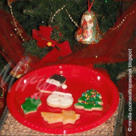 Regalare Biscotti Di Natale.Biscotti Di Natale Decorati Da Regalare