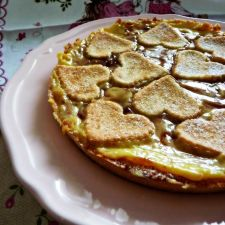 Crostata morbida alla crema di yogurt