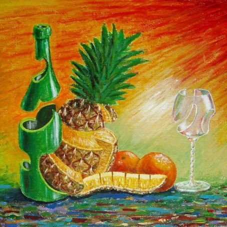Ananas champagne