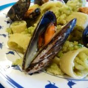 Calamarata light (cozze e broccolo)