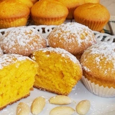 Ricetta Muffin Alle Carote.Muffins Alle Carote E Mandorle 3 5