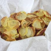 Chips di patate fatte in casa