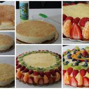 Ricetta per base di torta alla frutta