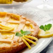Crostata al limone light