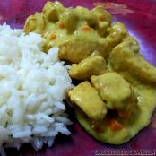 Pollo al curry, zenzero e yogurt