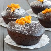 Dark chocolate orange and cardamom cake