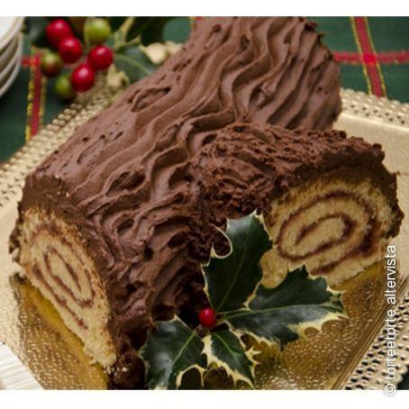 Torta Tronchetto Di Natale.Tronchetto Di Natale Al Cacao 4 3 5