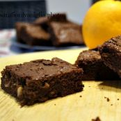 Brownies all'arancia