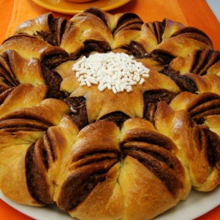 Torta Stella Di Natale.Stella Di Pan Brioche Alla Nutella 4 2 5