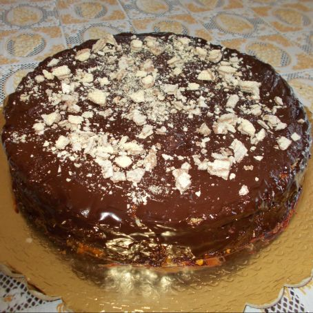 Torta Alla Nocciola Nutella E Wafer 35