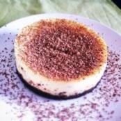 Mini extradark cheesecake
