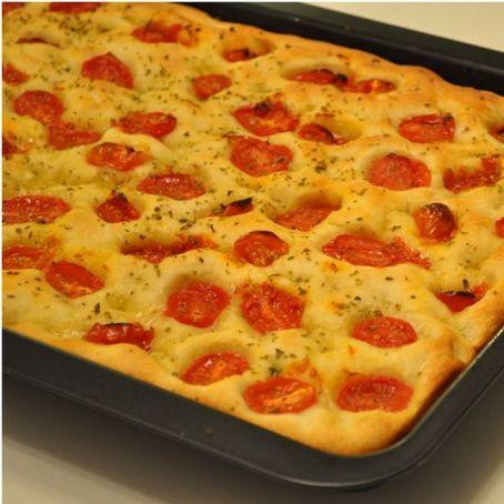 Ricetta Focaccia Con Pomodorini.Focaccia Con Pomodorini 3 9 5
