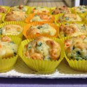 Muffin verdure e yogurt