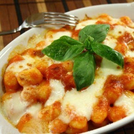 Ricetta Gnocchi Sugo E Mozzarella.Gnocchi Al Pomodoro E Mozzarella 2 9 5