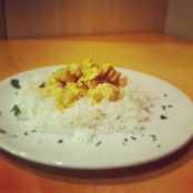 Pollo al curry con yogurt - Tappa 1