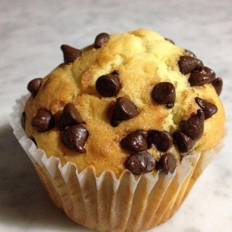 Ricetta Muffin Con Gocce Di Cioccolato.Muffin Con Gocce Di Cioccolato Originali 3 5