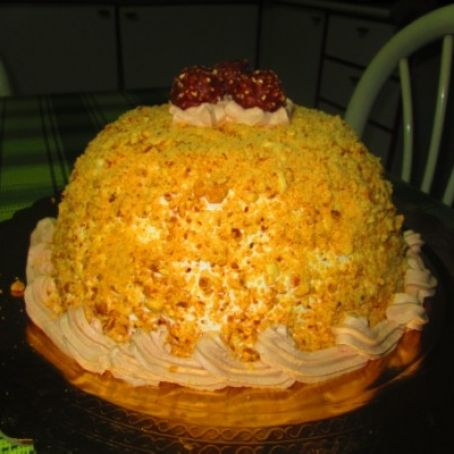 Torta Ferrero Rocher con wafer