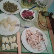 Insalatona di pollo - Tappa 1
