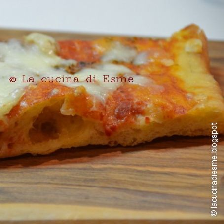 Ricetta Impasto Pizza A Lunga Lievitazione.La Pizza A Lunga Lievitazione 4 3 5