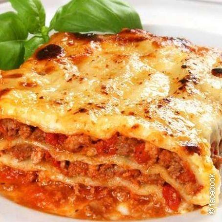 Ricetta Originale Lasagne Alla Bolognese.Lasagne Alla Bolognese 4 3 5