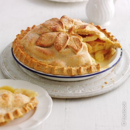 Ricetta Torta Di Mele Americana.Apple Pie La Torta Di Mele Americana