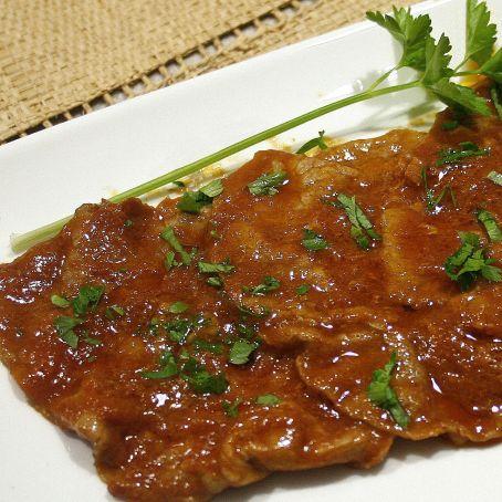 Fettine di carne di vitello alla pizzaiola 3 2 5 - Come cucinare fettine di bovino ...