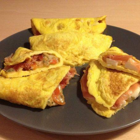 Omelette Ricetta Ripieno.Omelette Farcita 3 2 5