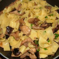 Pappardelle ai funghi