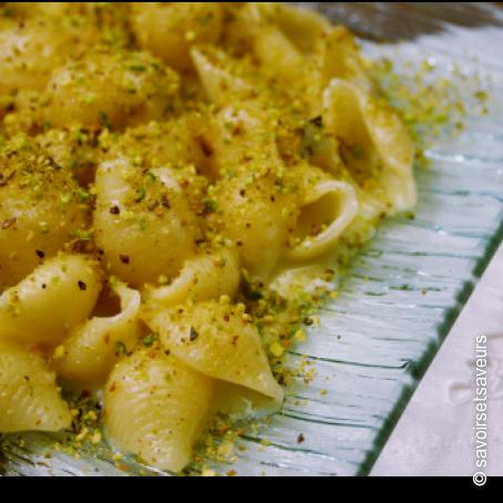 Ricetta pasta gorgonzola e pistacchi