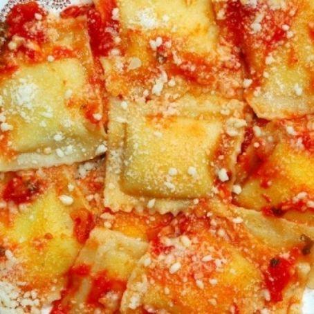 Ricetta Ravioli Patate.Ravioli Di Patate Pecorino E Menta 4 6 5