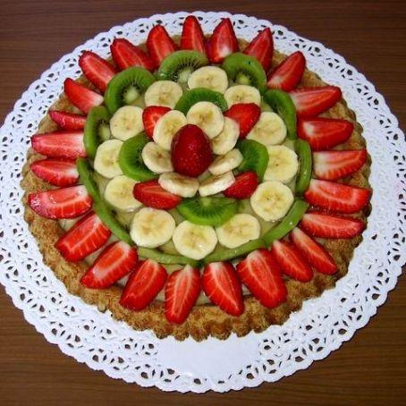 Ricetta Pasta Frolla X Crostata Di Frutta.Crostata Alla Frutta Estiva E Pasta Frolla 4 1 5